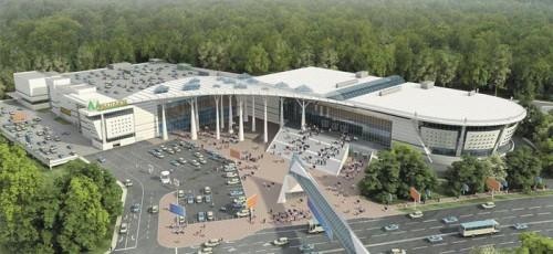 Работы по реконструкции выставочного комплекса «Башкортостан» выполнены на 70%