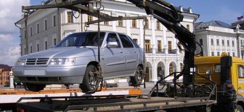 За прошлый год в Башкирии на специализированную стоянку было эвакуировано более 50 тысяч транспортных средств