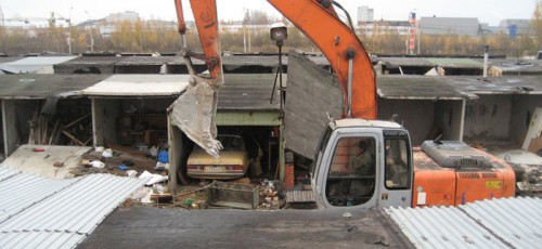 Снос гаражей с территории будущего перинатального центра будет осуществляться за счет заказчика