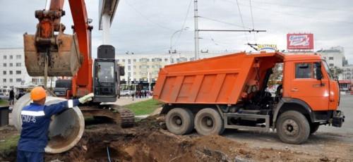 Власти города готовы выделить деньги для разработки проекта ливневой канализации под улицей Цюрупы