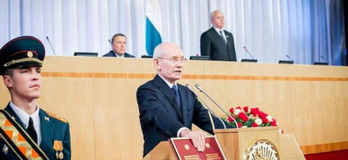 Рустэм Хамитов официально занял пост президента Башкирии