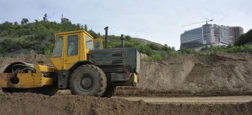 В Уфе полным ходом идет строительство набережной реки Белой: работы по благоустройству планируется завершить в следующем году