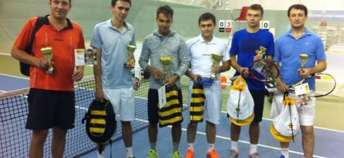 Уфимский филиал разыграл Кубки «Билайн» по теннису