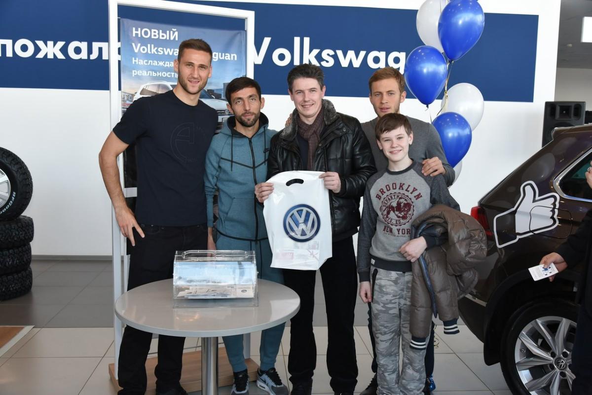 В Уфе прошла презентация нового Volkswagen Tiguan