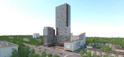 Город с высоты 31 этажа: в Уфе построили самое высокое здание в Башкирии