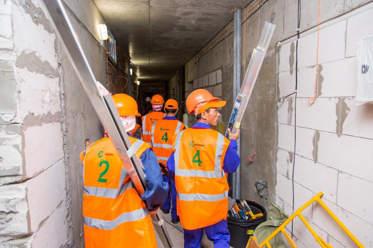 Не только энтузиасты, но и профессионалы: на строительной площадке компании «ТАЛАН» в Уфе прошел республиканский отраслевой конкурс мастерства