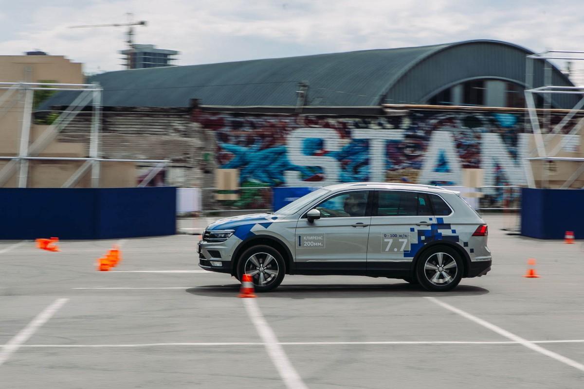 В России стартовал проект Volkswagen Driving Experience 2017