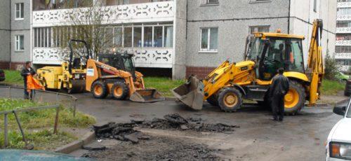 Из-за долгого обсуждения проектов местных инициатив ремонт дворов в Уфе не успевают завершить в срок
