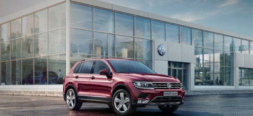 Volkswagen Tiguan в новом кузове