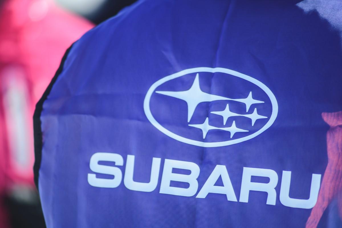 В Уфе прошел ледовый тест драйв Subaru