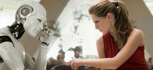 Английский профессор создал робота, который повторяет мимику человека