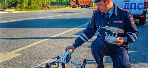 Госавтоинспекция Башкирии может следить за автомобилистами с воздуха