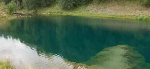 Места. Озеро-источник Сарва