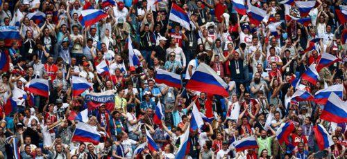 Во время проведения Чемпионата мира по футболу в России большинство граждан брали отпуск, чтобы посещать матчи