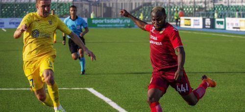 Футбольный клуб «Уфа» сыграл второй матч в Лиге Европы против словенского «Домжале»