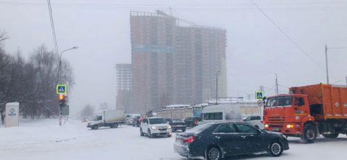 Уфимская администрация: дворы расчистят от снега в ближайшие два дня