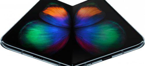 Первый в мире смартфон, оснащенный сгибающимся безрамочным экраном, представляет компания Samsung