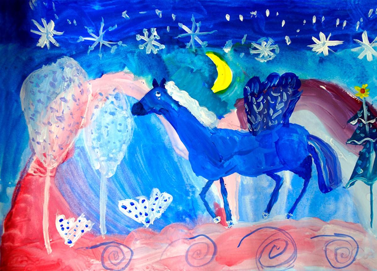С 16 марта в Уфе пройдет выставка детской художественной студии Семицветик