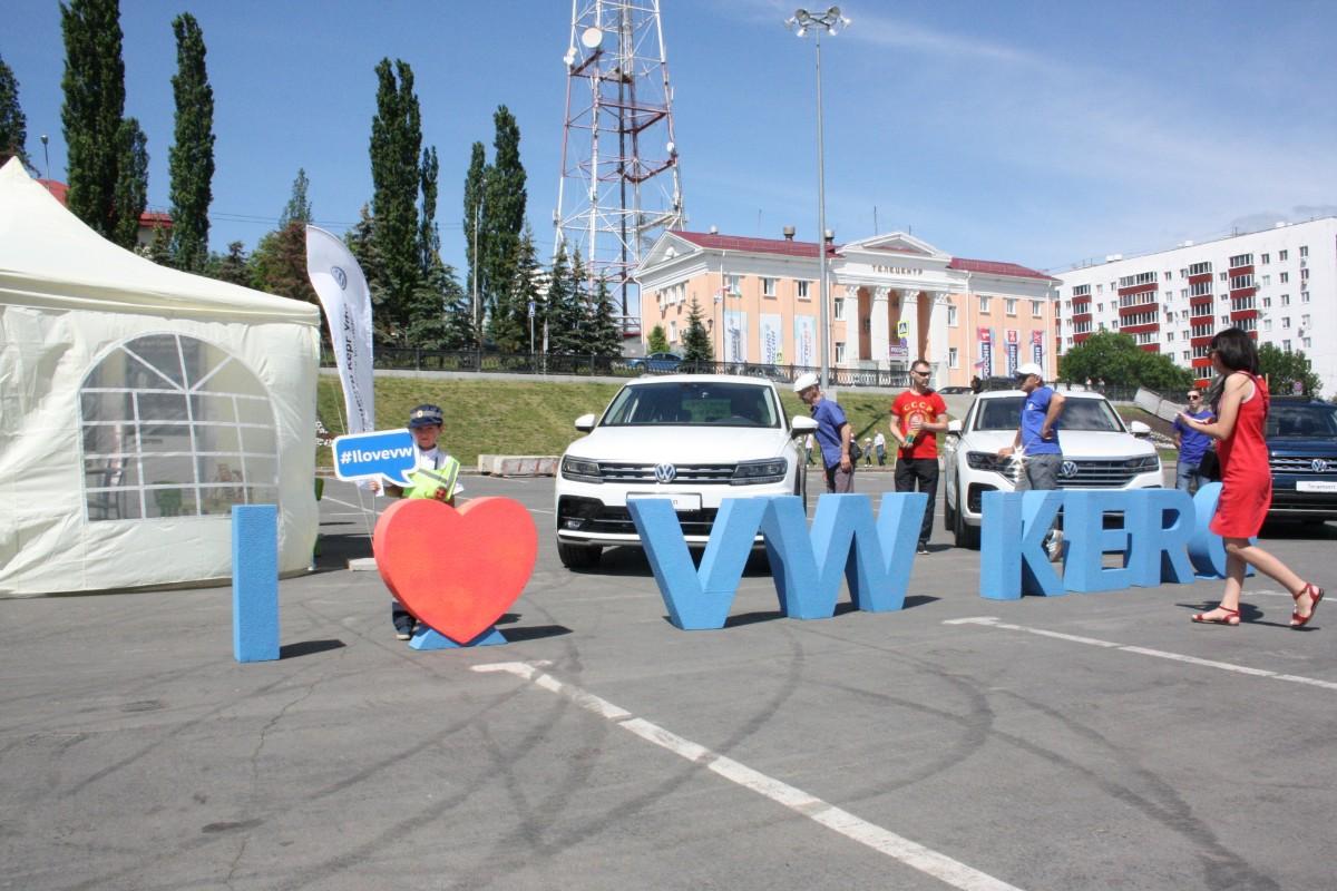 В день России и Уфы на площади Салавата Юлаева состоялась экспозиция лучших автомобилей Volkswagen от «Автоцентра Керг Уфа»!
