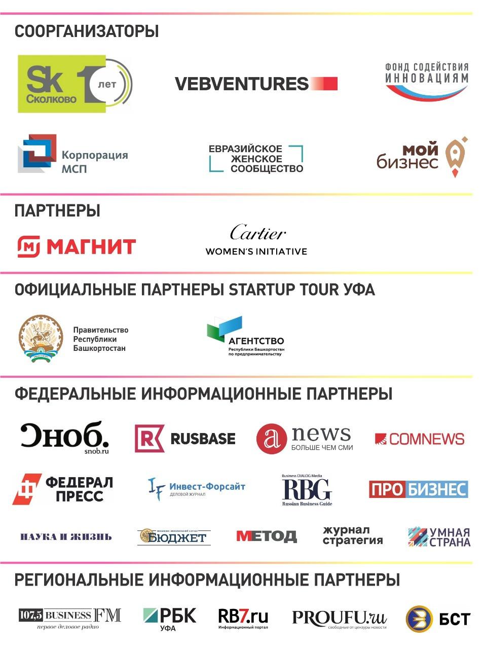 На конкурс стартапов Open Innovations Startup Tour в Уфе поступило 97 заявок из восьми регионов