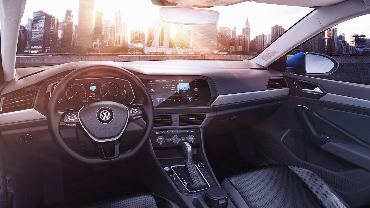 Новый Volkswagen Jetta!