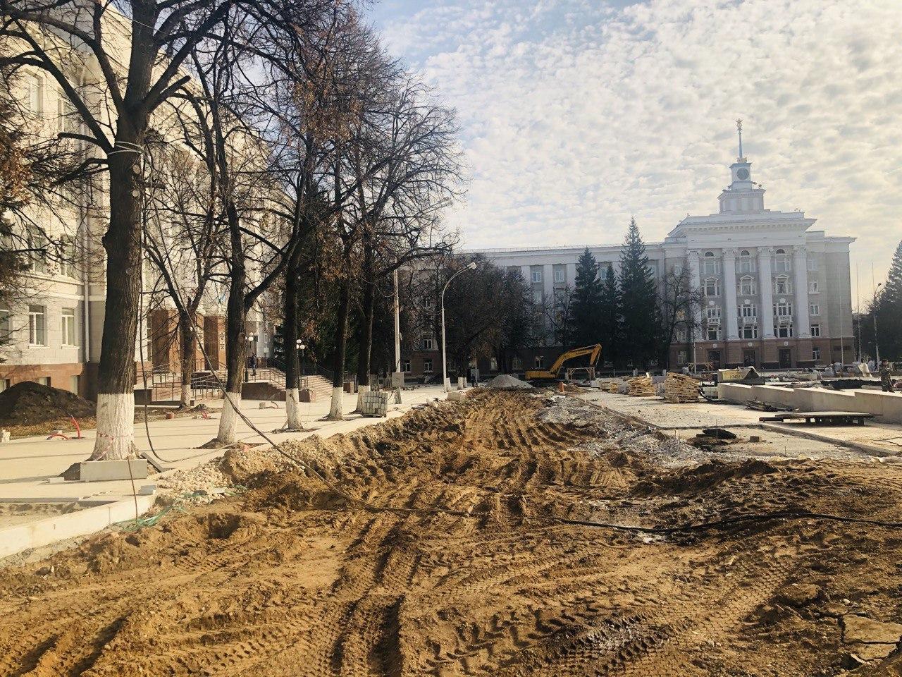 Реконструкция Советской площади в Уфе. Как это выглядит? Фоторепортаж от Business FM