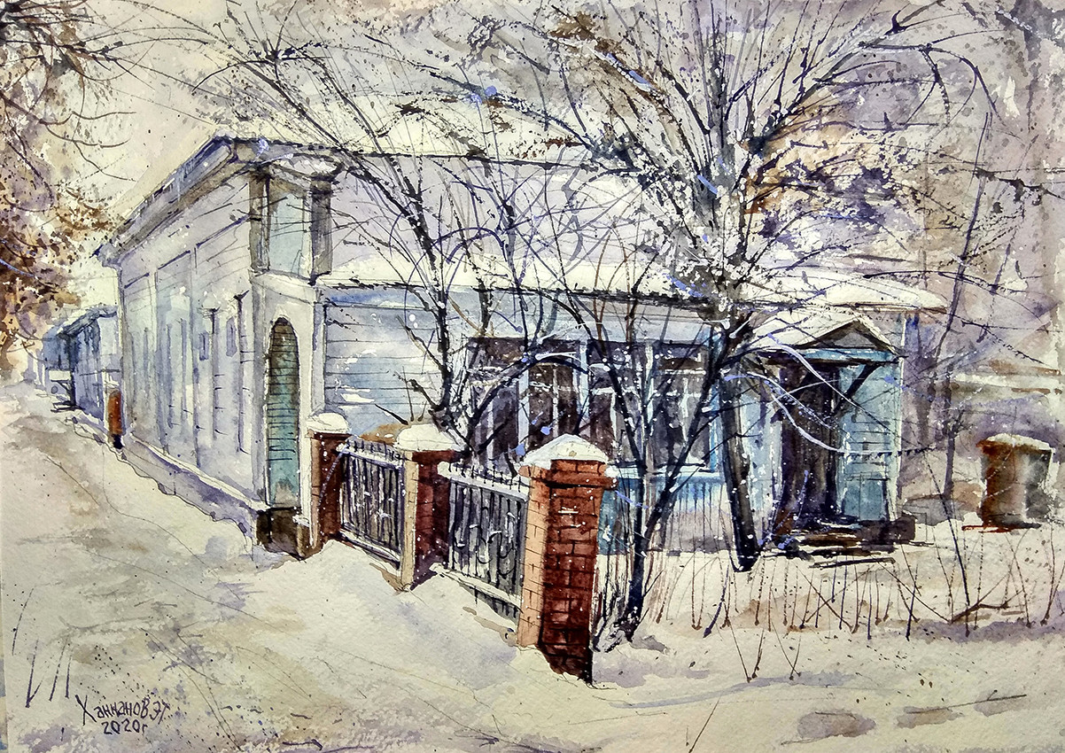 Выставка «Моя Уфа» Эдуарда Ханнанова
