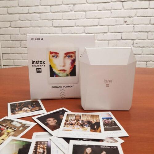 Назад в 90 ые для любителей живых фотографий. Моментальная печать фото с принтером Instax Share SP 3