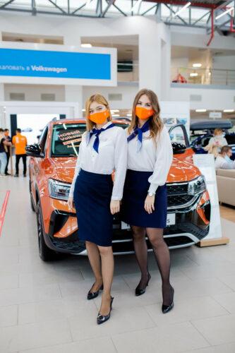 В Автоцентре Керг Уфа состоялась презентация абсолютно НОВОГО Volkswagen Taos